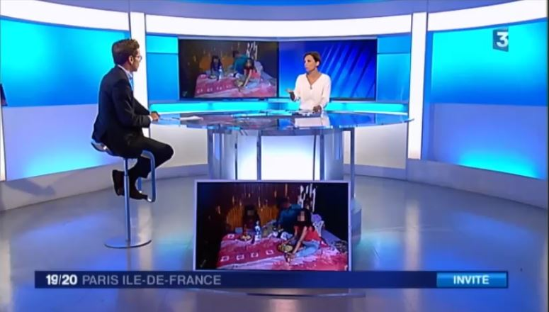 G.Didier sur France 3 IDF